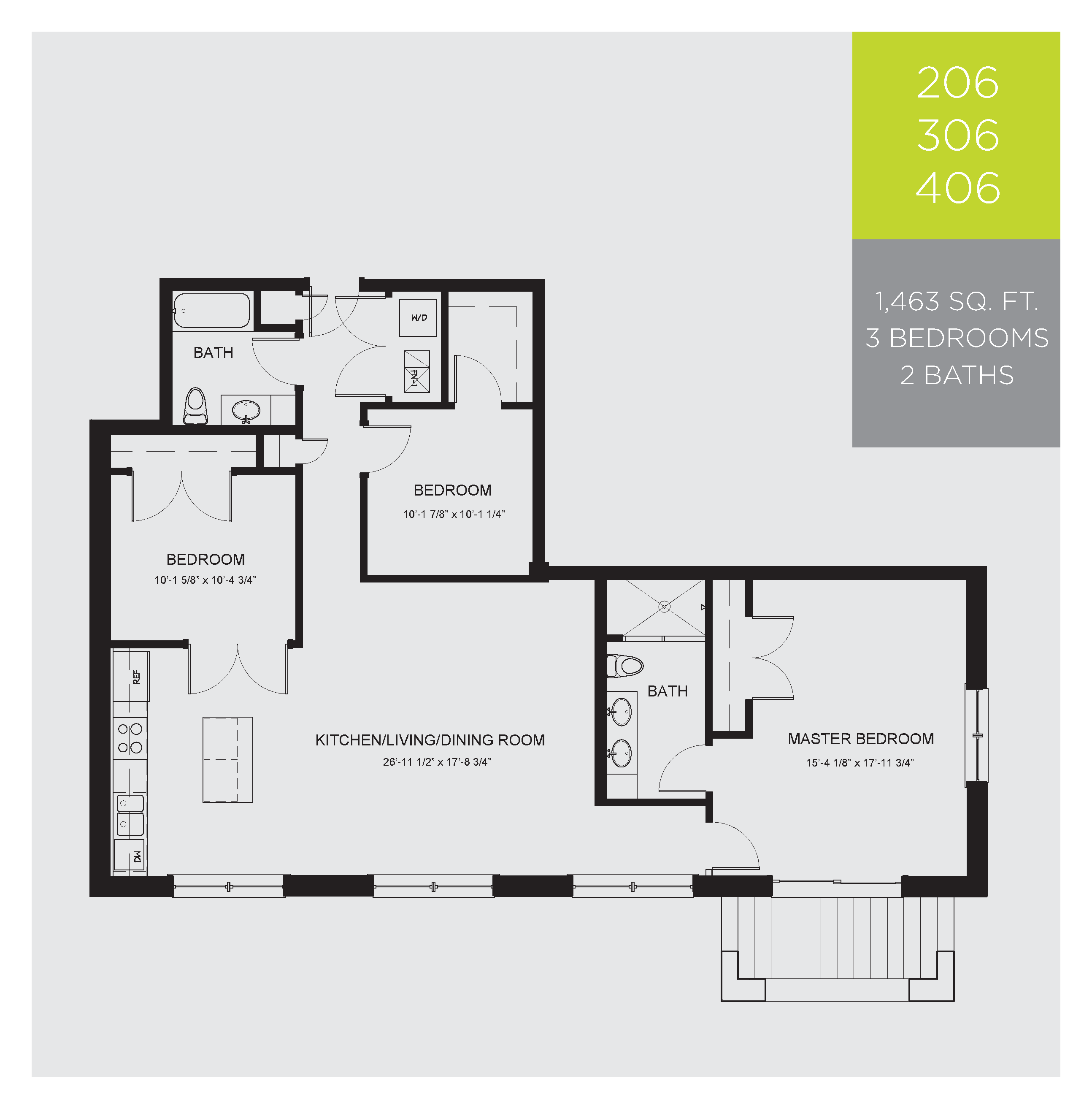 Unit floor plans ravenlux apartments for Floor plans for units